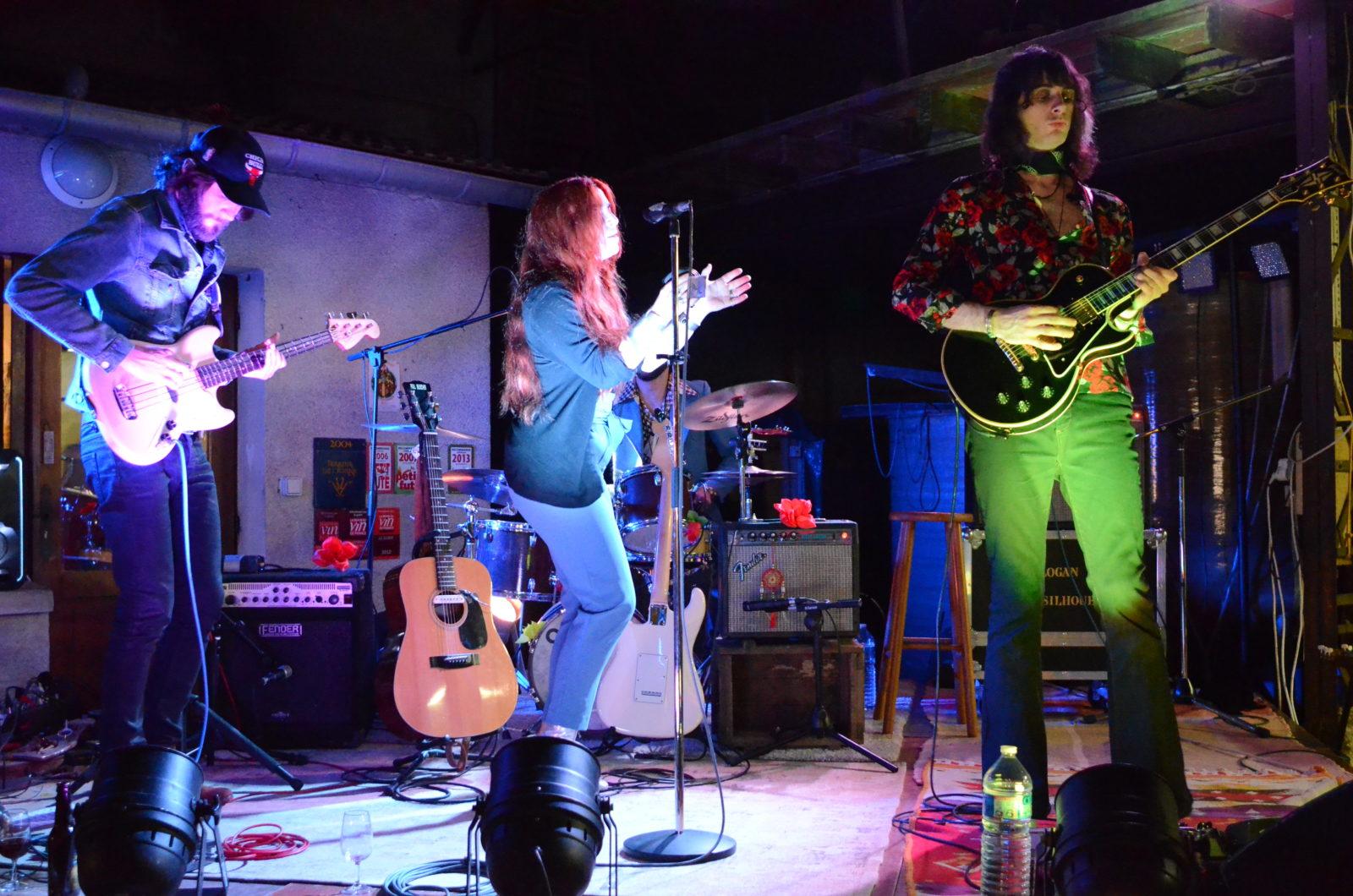 Kim Logan et les Silhouettes en concert au Clos du Roi à Coulanges la Vineuse