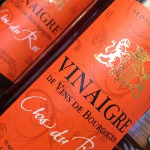 Vinaigre élevé en fûts clos du Roi à Coulanges la Vineuse