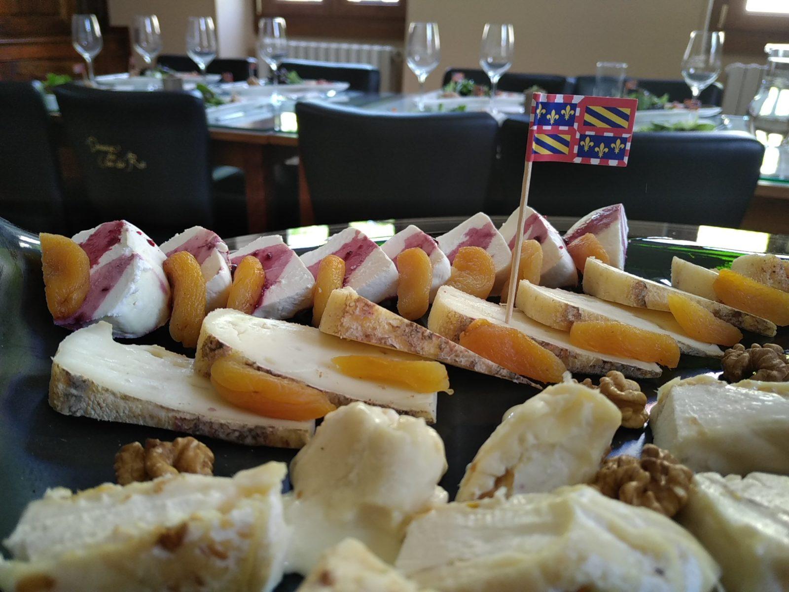 planche de fromage Clos du Roi à Coulanges la Vineuse