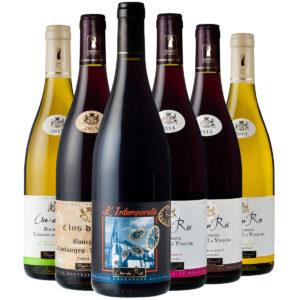 gamme des vins du Clos du Roi à Coulanges la Vineuse