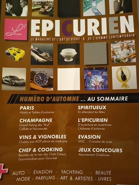 L'Epicurien Magazine