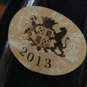 millésime 2013 Bourgogne Coulanges la Vineuse du domaine du Clos du Roi